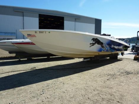 Used Power boats For Sale in York, Pennsylvania by owner | 2007 36 foot Pantera survivor